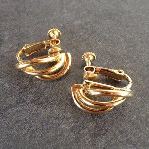 Vintage Modern Runway Earrings by Napier